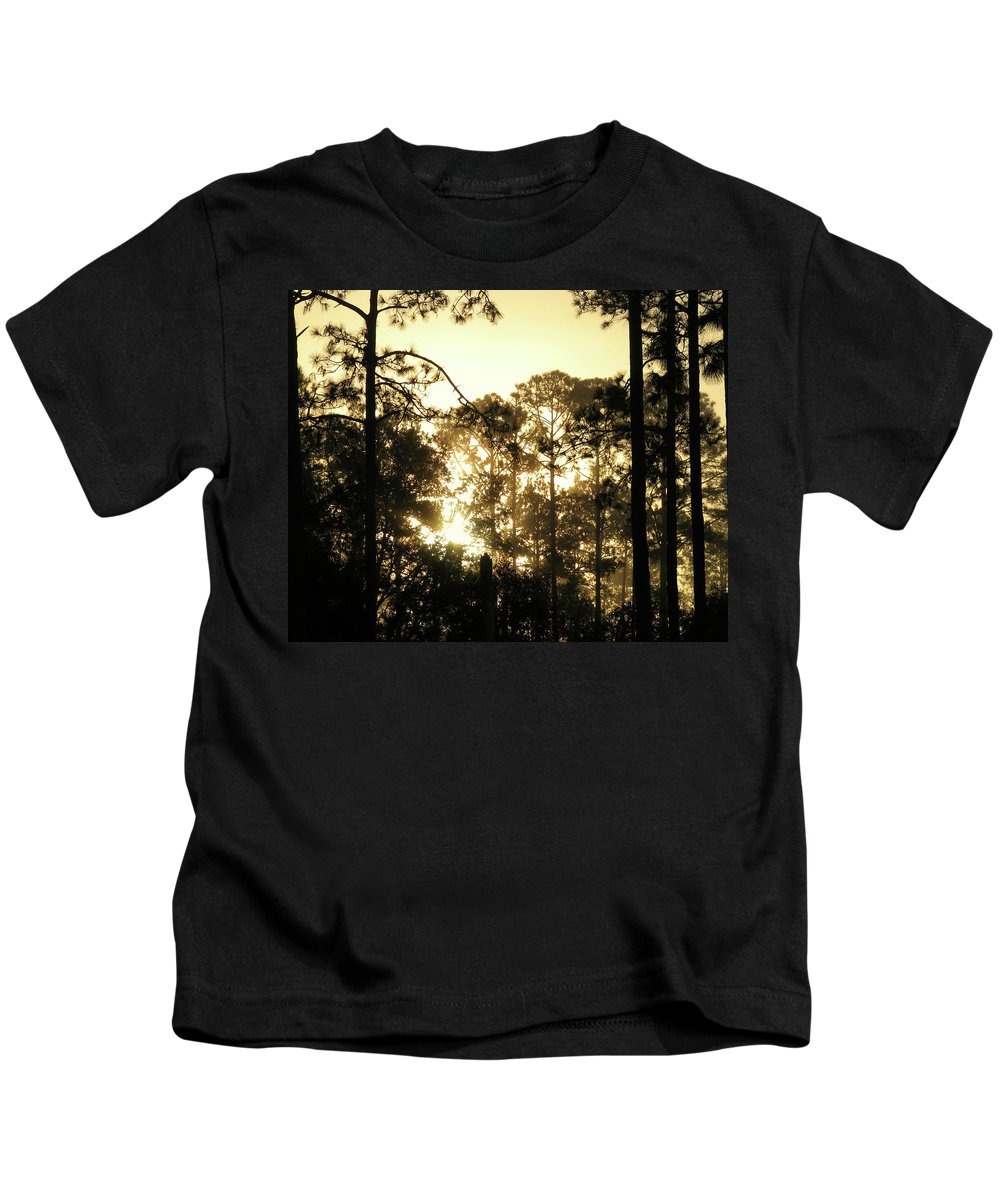 Nature Kids T-Shirt featuring the photograph Glorious Dawn by Peg Urban