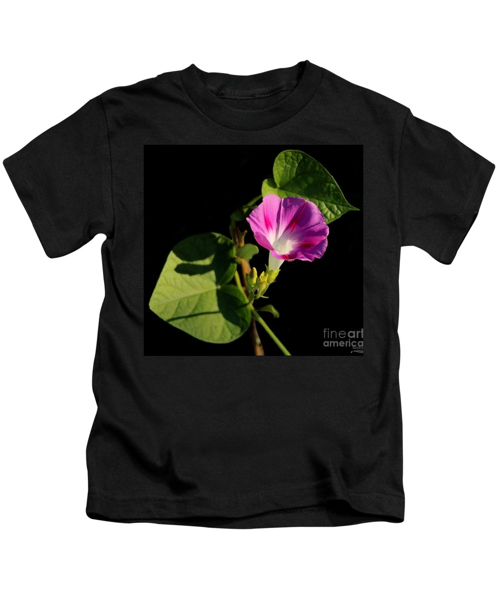 Texas Kids T-Shirt featuring the photograph Glorious Morning by Rebecca Morgan