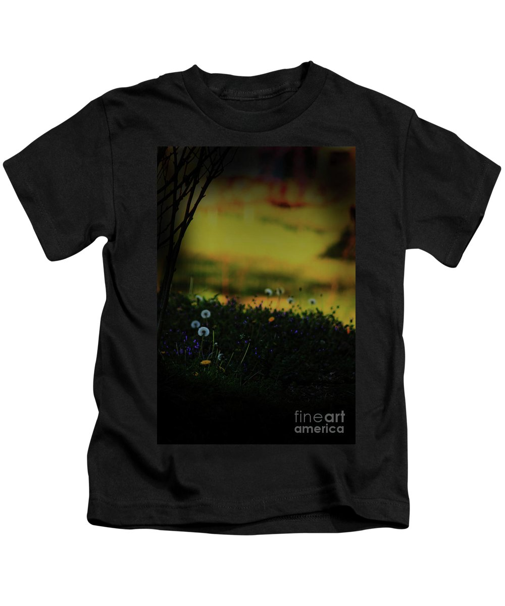 Nature Kids T-Shirt featuring the photograph Glowing by Kim Henderson