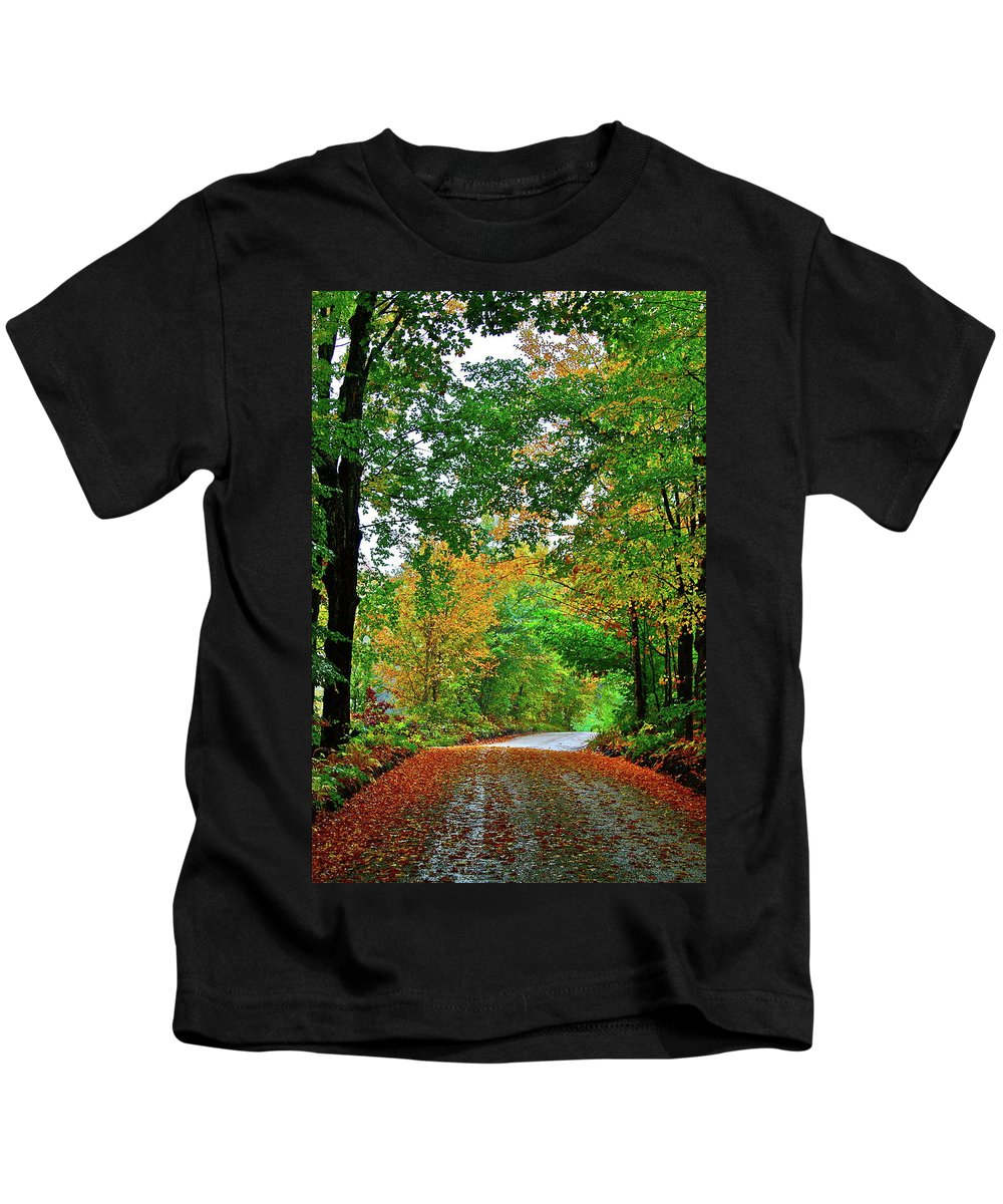 Country Kids T-Shirt featuring the photograph God's Confetti by Diana Hatcher
