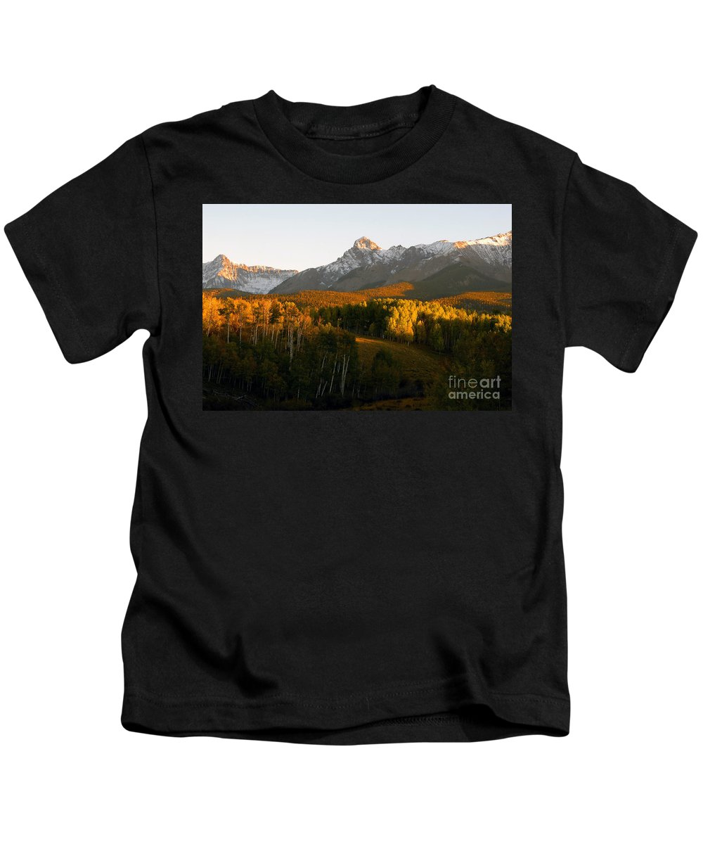 Landscape Kids T-Shirt featuring the photograph God's Country by David Lee Thompson