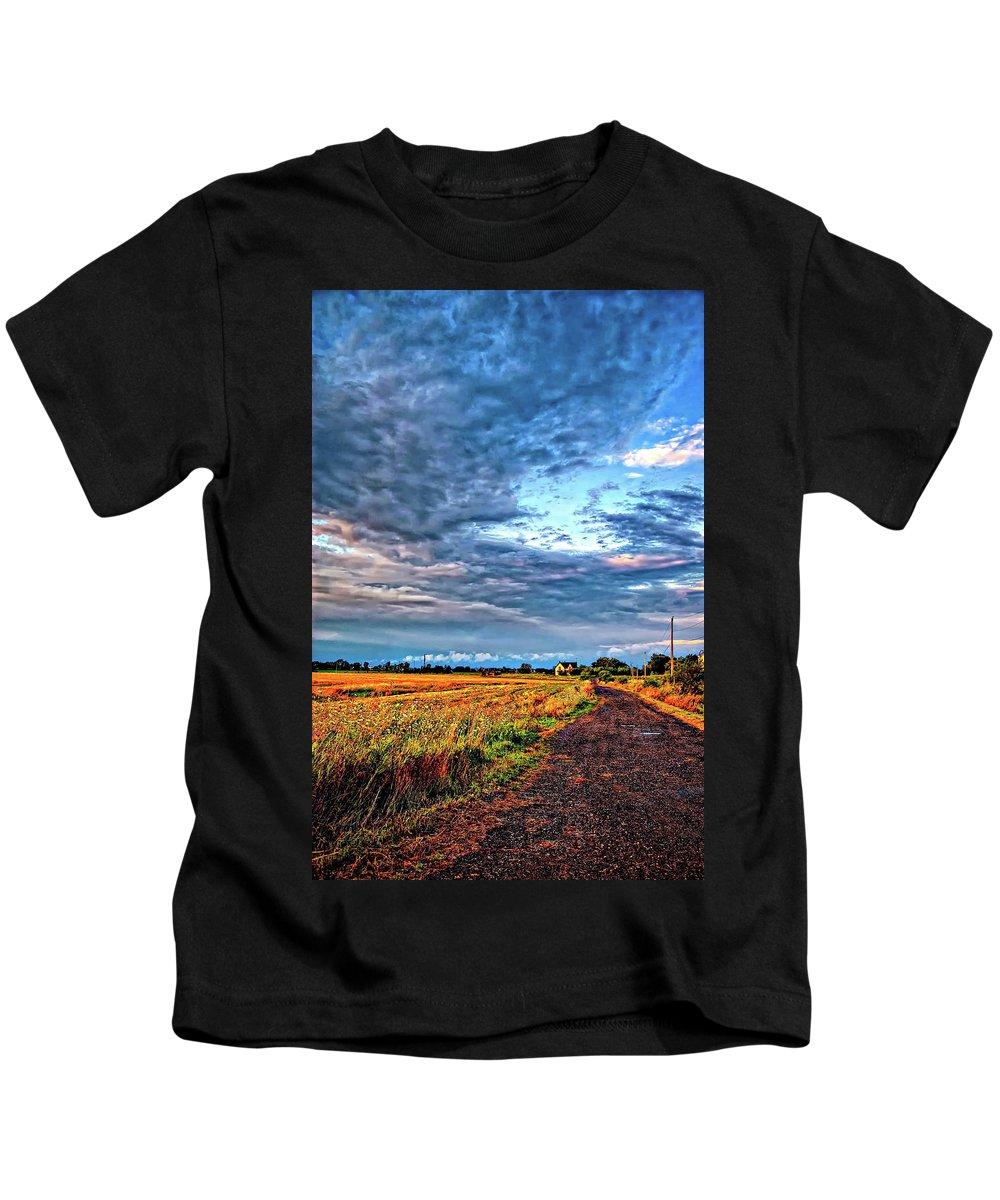 Scud Cloud Kids T-Shirts