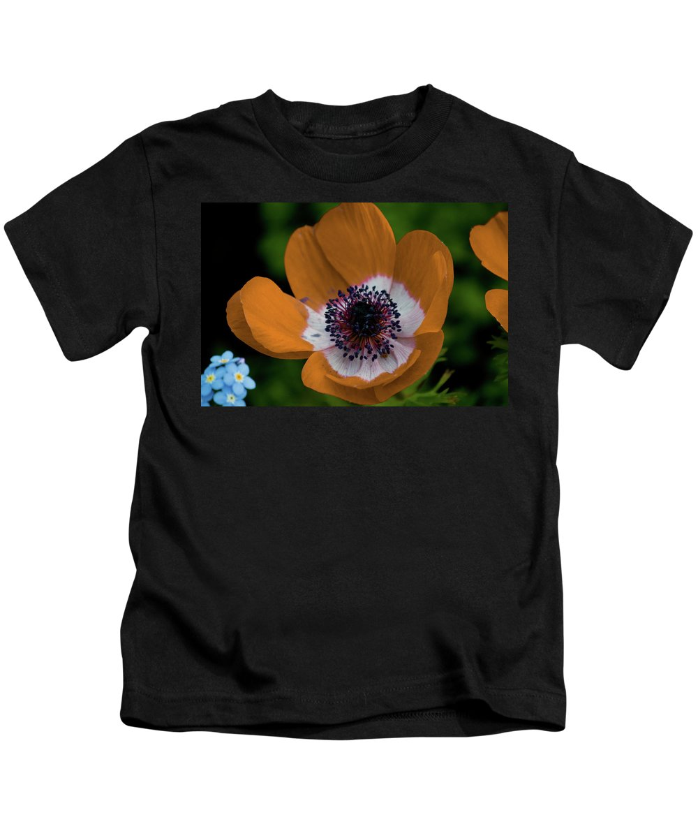 Gold Kids T-Shirt featuring the photograph Golden Poppy by Trish Tritz