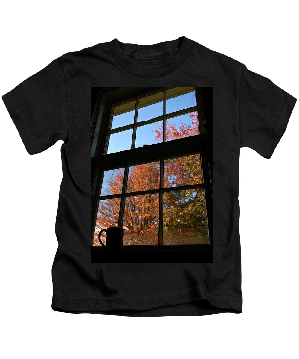 autumn Colors Kids T-Shirt featuring the photograph Good Morning Autumn by Paul Mangold