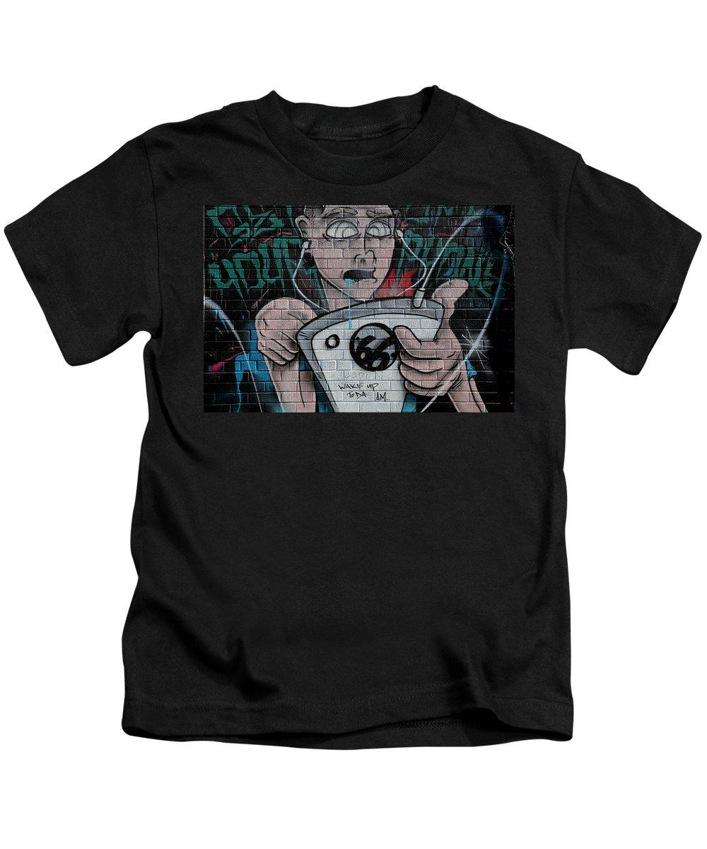 Graffiti Kids T-Shirt featuring the photograph Graffiti 13 by Andrew Fare