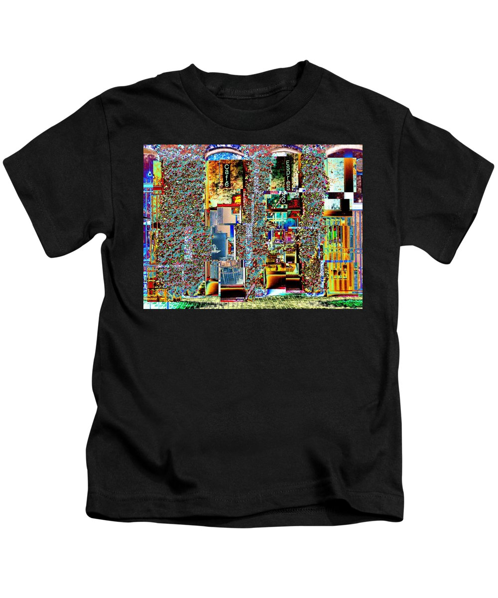 Seattle Kids T-Shirt featuring the photograph Grand Central Bakery 1 by Tim Allen