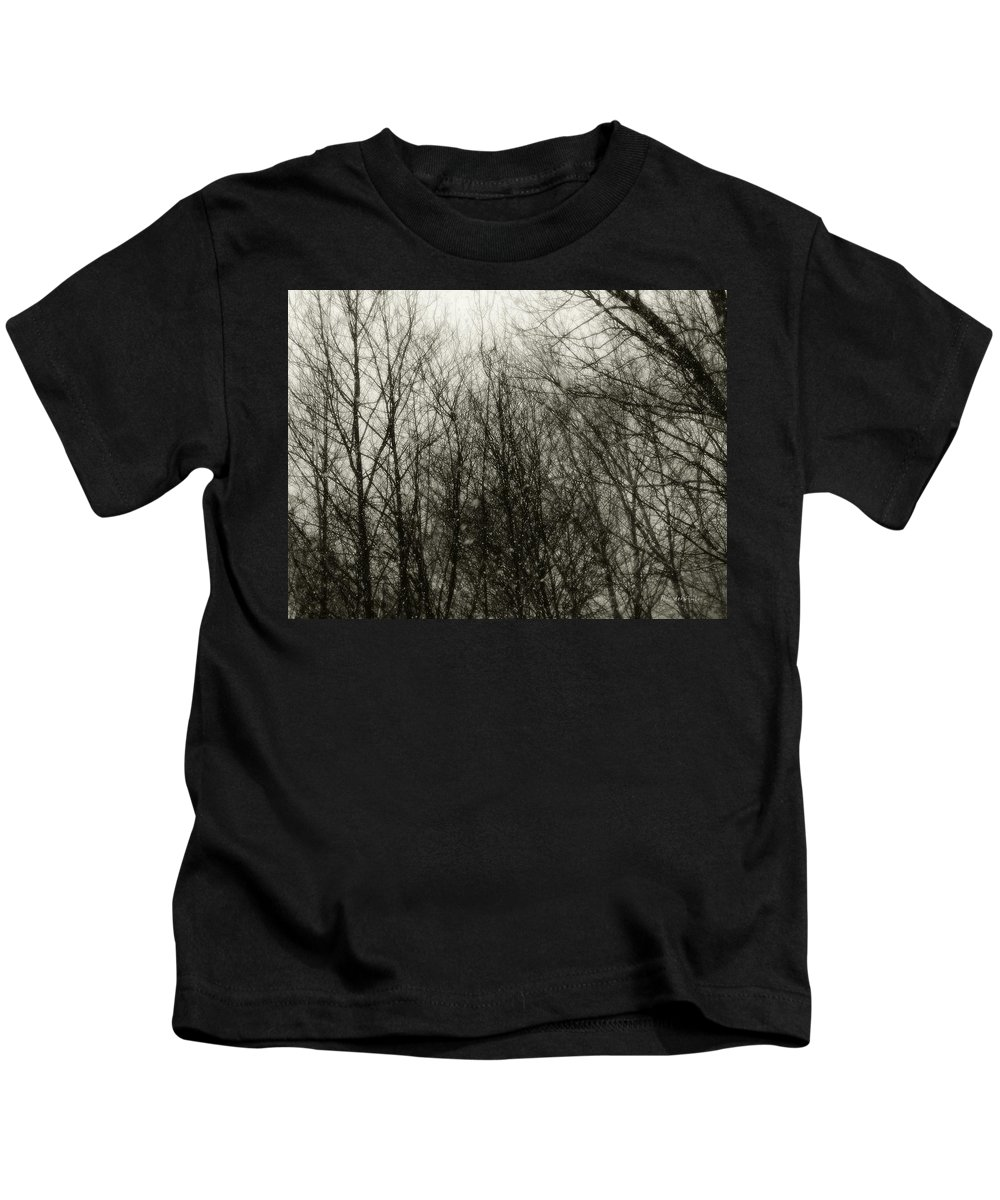 Connecticut Kids T-Shirt featuring the photograph Gray Dawn by RC DeWinter