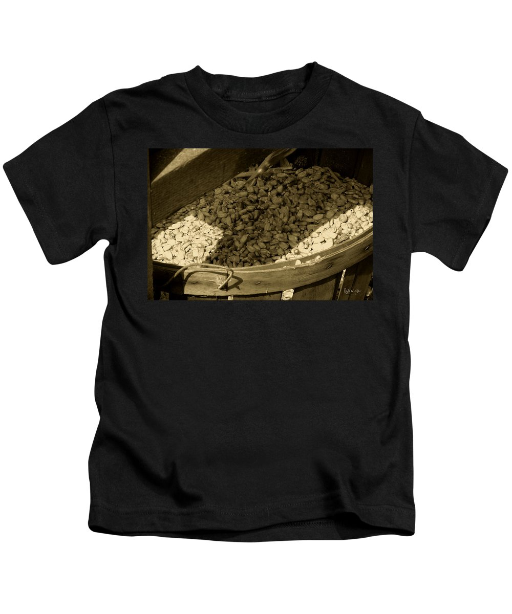 Agriculture Kids T-Shirt featuring the photograph Grist For The Mill by RC DeWinter