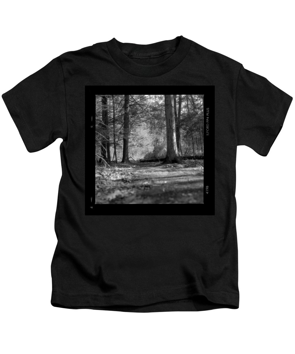 Trees Kids T-Shirt featuring the photograph Ground Floor by Jean Macaluso