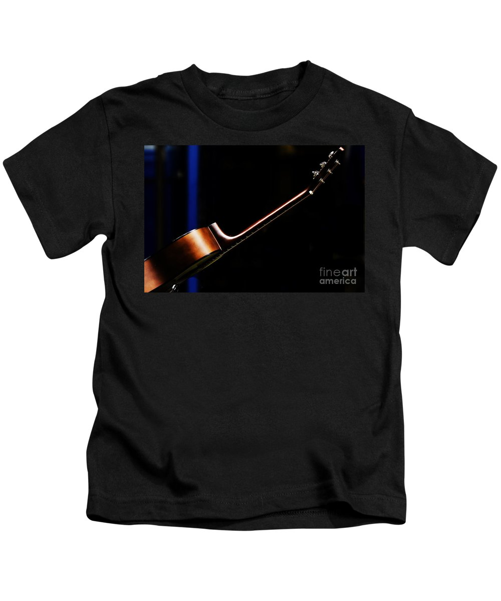 Guitar Kids T-Shirt featuring the photograph Guitar by Sheila Smart Fine Art Photography