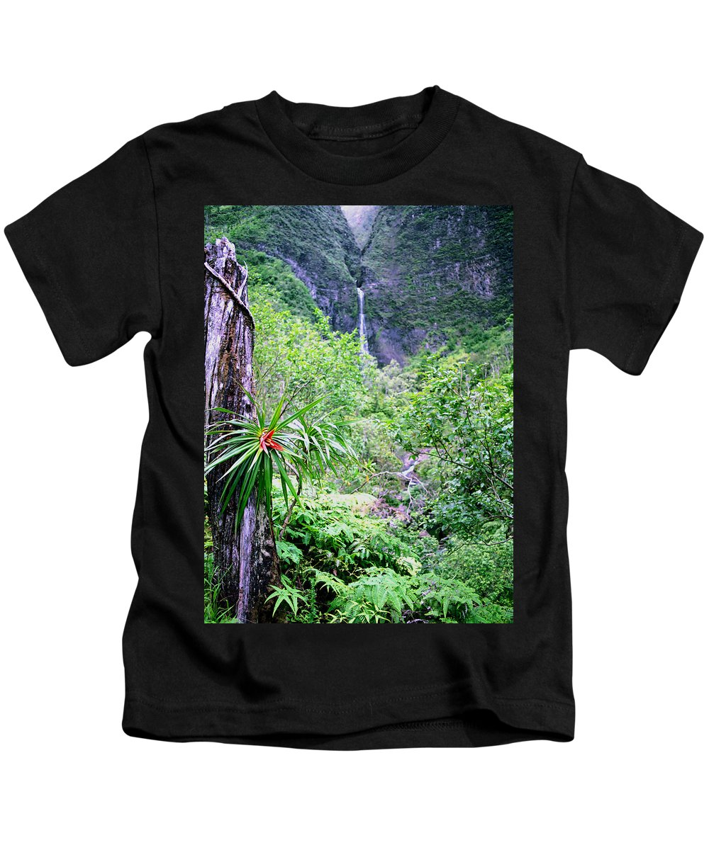 Hawaii Kids T-Shirt featuring the photograph Hanakapiai Valley by Kevin Smith