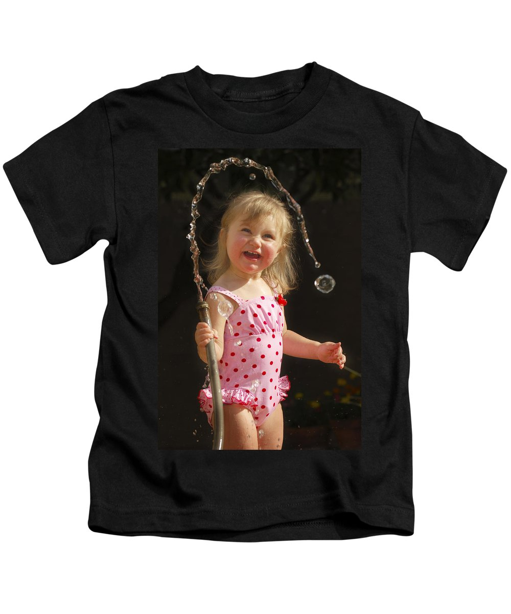 Happy Contest Kids T-Shirt featuring the photograph Happy Contest 2 by Jill Reger
