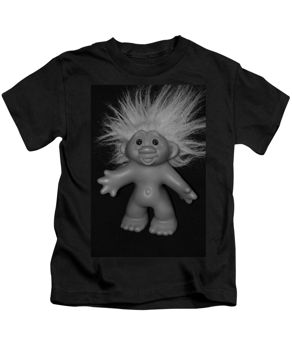 Happy Kids T-Shirt featuring the photograph Happy Troll by Rob Hans
