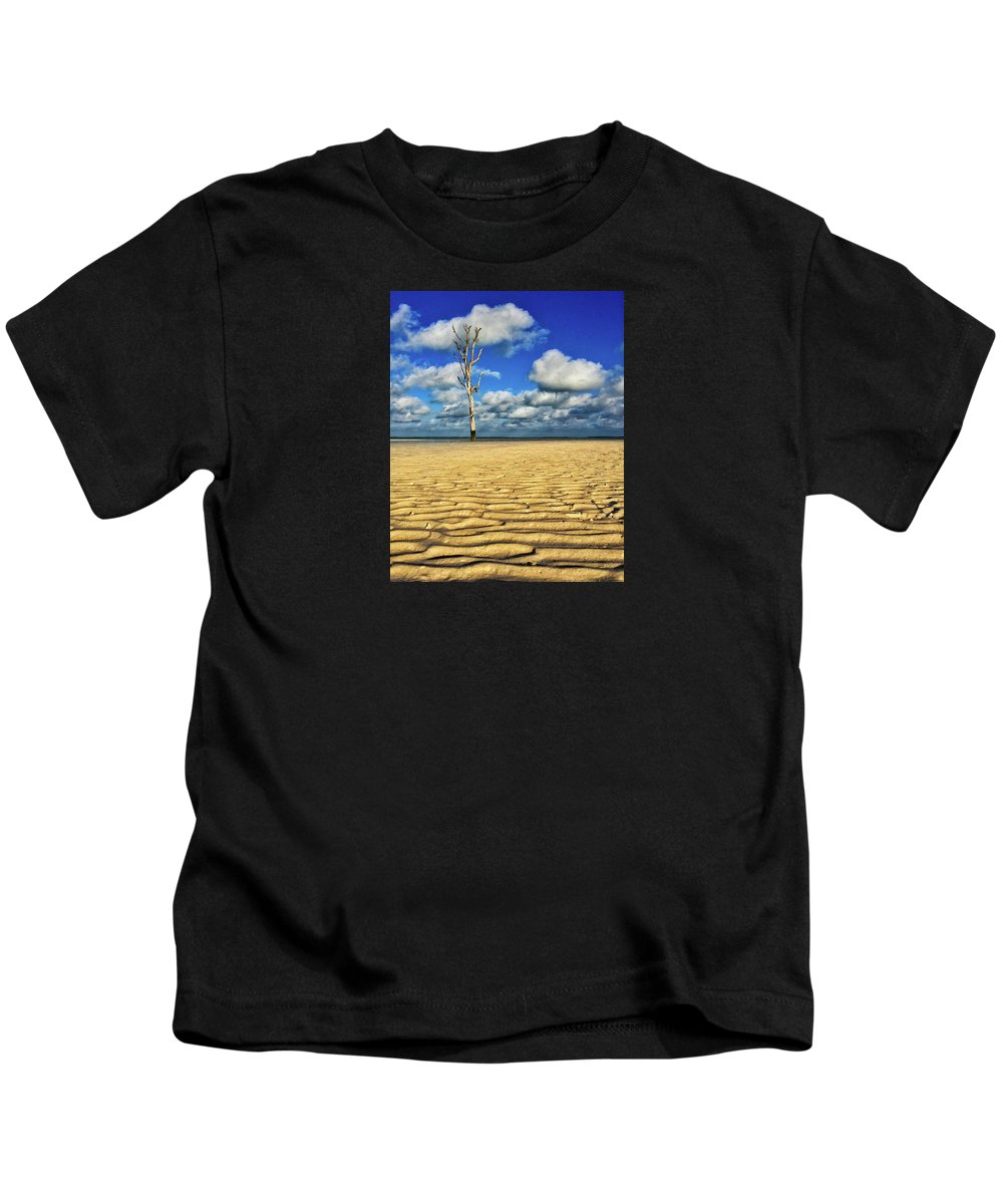 Harbour Island Kids T-Shirt featuring the photograph Harbour Island, Bahamas by Braden Moran