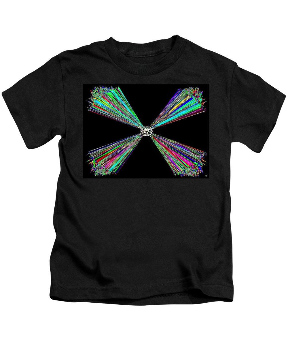 Abstract Kids T-Shirt featuring the digital art Harmony 25 by Will Borden