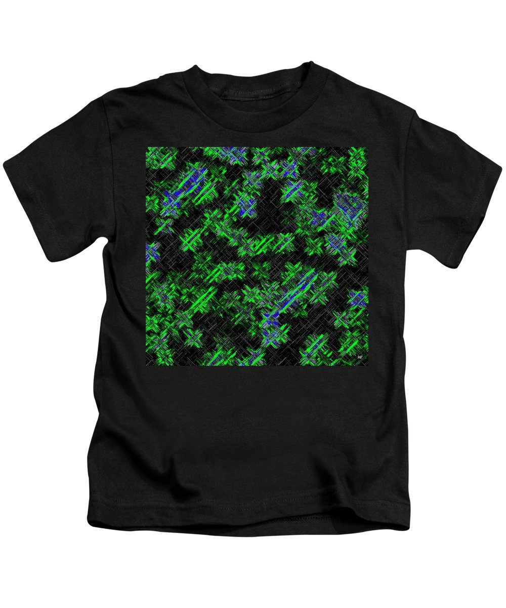 Abstract Kids T-Shirt featuring the digital art Harmony 33 by Will Borden