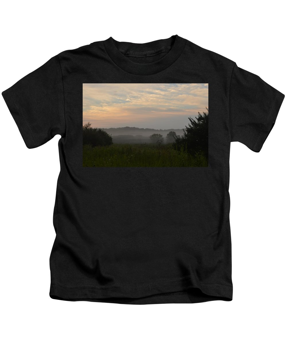 Sunrise Kids T-Shirt featuring the photograph Hazy Morning by Sharmila Taylor
