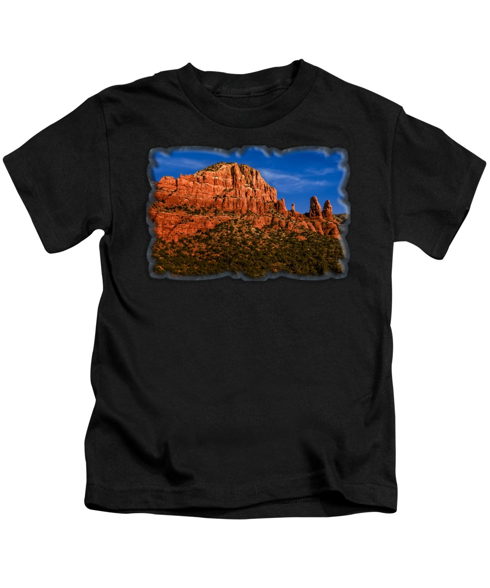 Arizona Kids T-Shirt featuring the photograph Her Majesty by Mark Myhaver