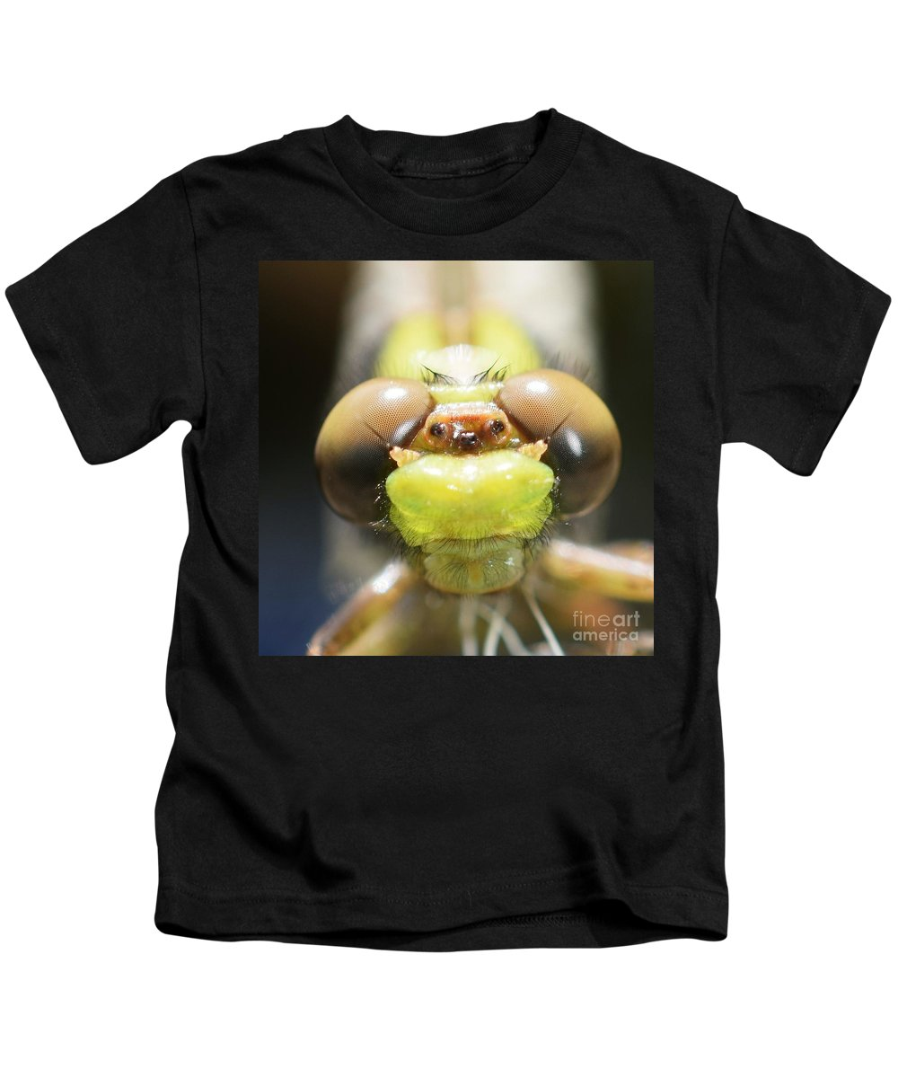 Macro Kids T-Shirt featuring the photograph Here's Looking At You Kid by Julie Street
