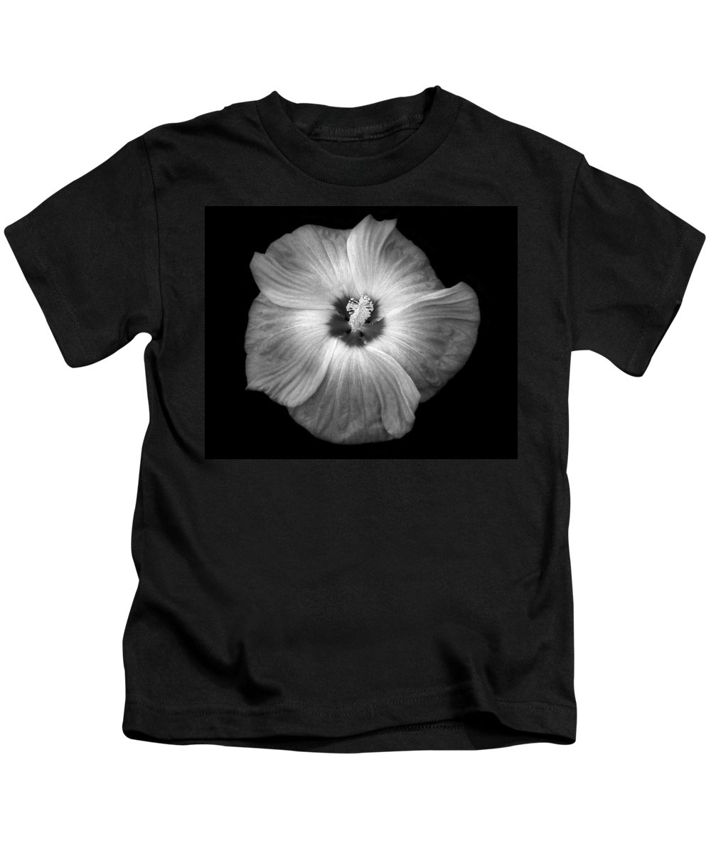 Hibiscus Kids T-Shirt featuring the photograph Hibiscus by Marilyn Hunt