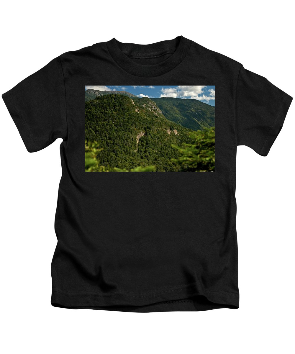 white Mountains Kids T-Shirt featuring the photograph High On The White Mountains by Paul Mangold