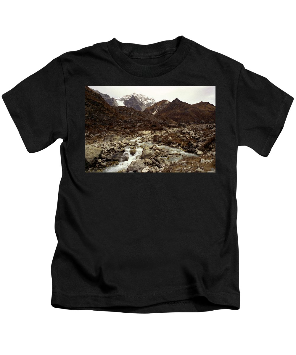 Himalaya Kids T-Shirt featuring the photograph Himalaya by Patrick Klauss