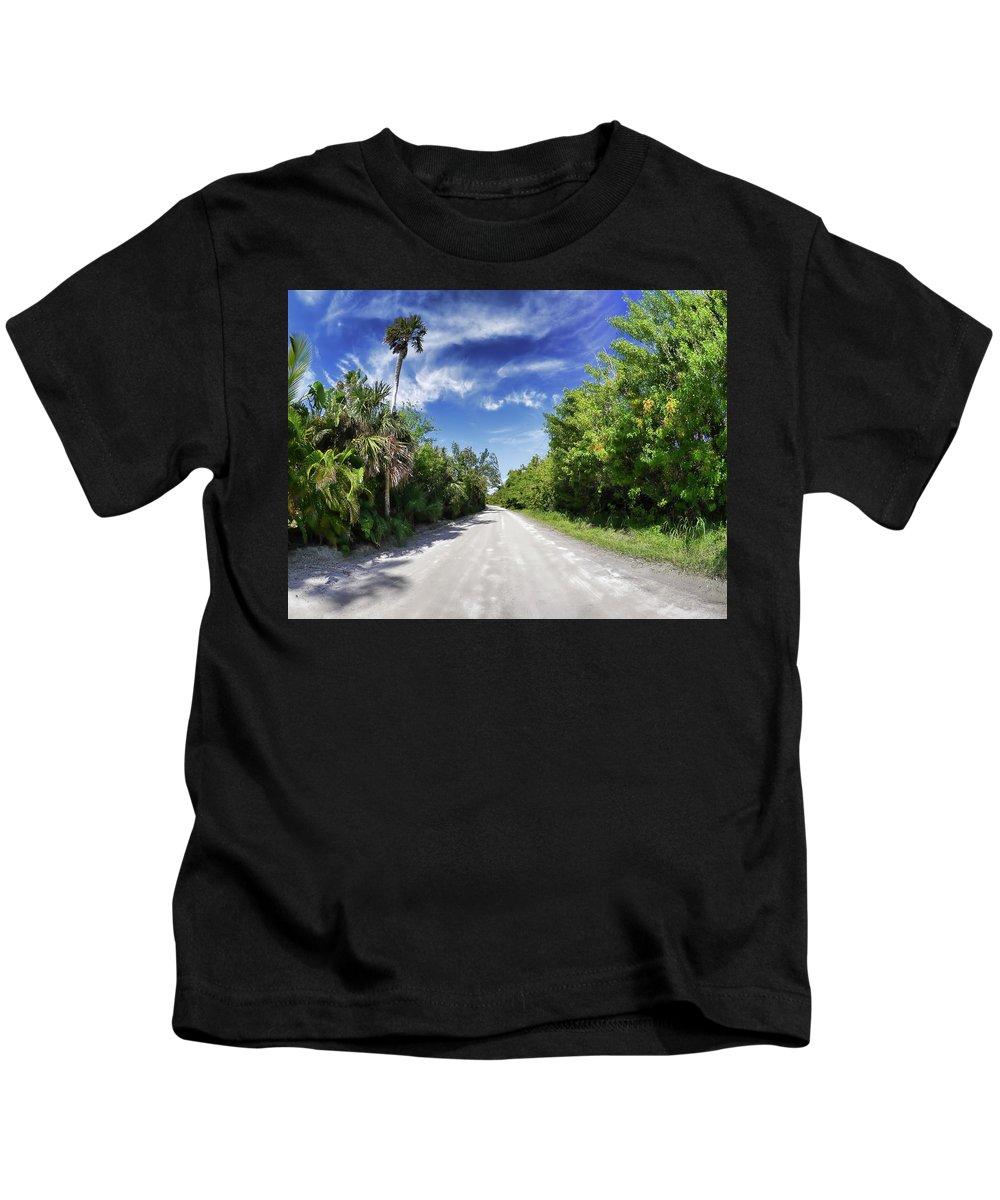 Kids T-Shirt featuring the photograph Historic Jungle Trail Vero Bch Fl II by Tina Baxter