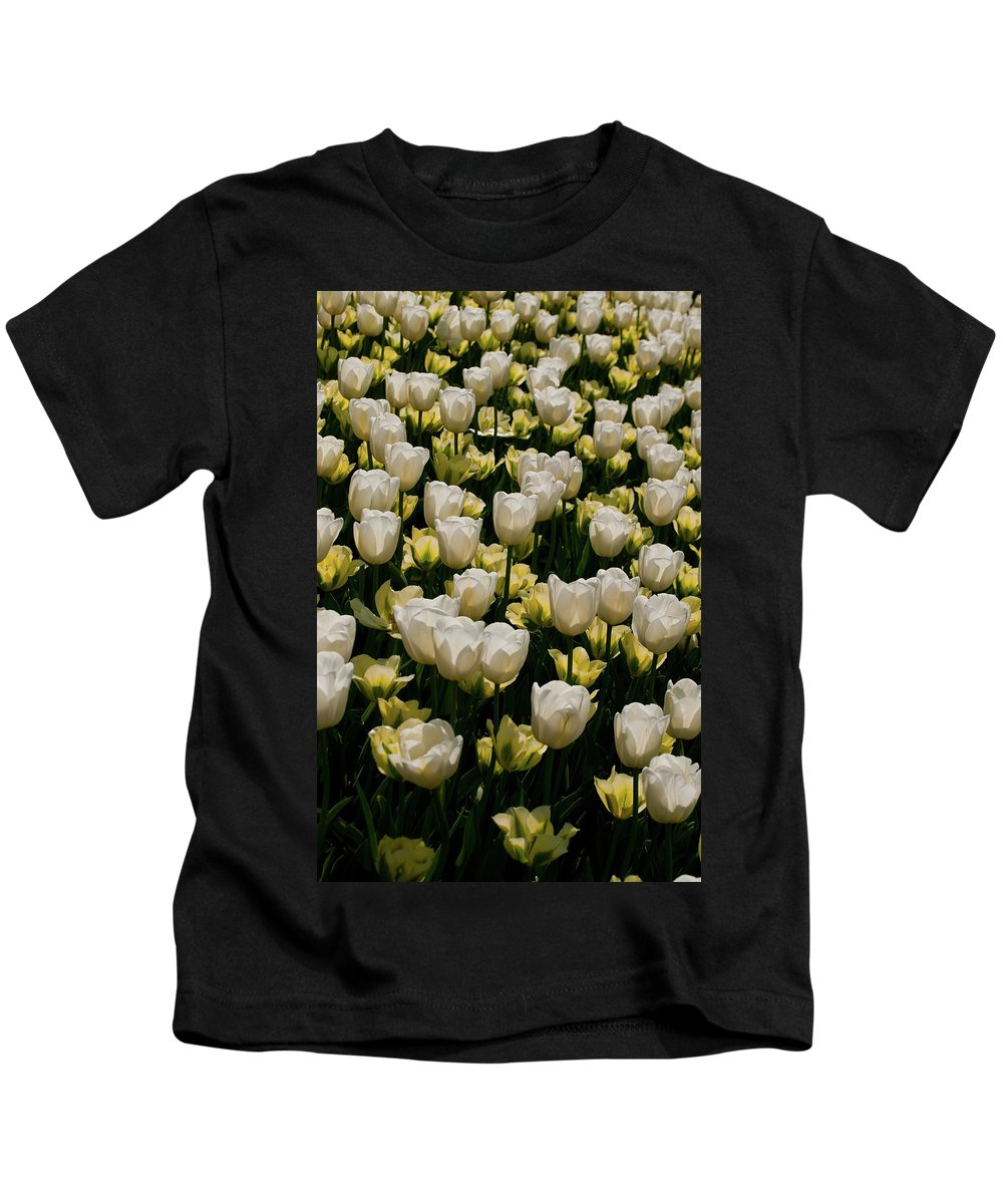 Kids T-Shirt featuring the photograph House Of White by Trish Tritz