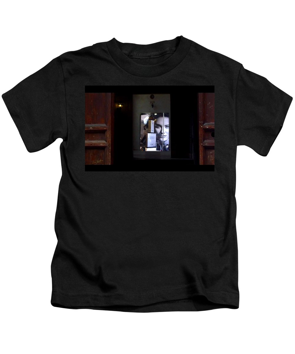 Dream Kids T-Shirt featuring the painting Hypnos Rome by Charles Stuart