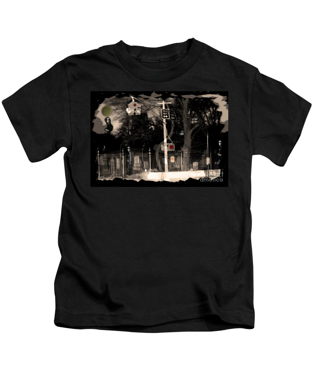 Dead Kids T-Shirt featuring the photograph I See Dead People by Madeline Ellis