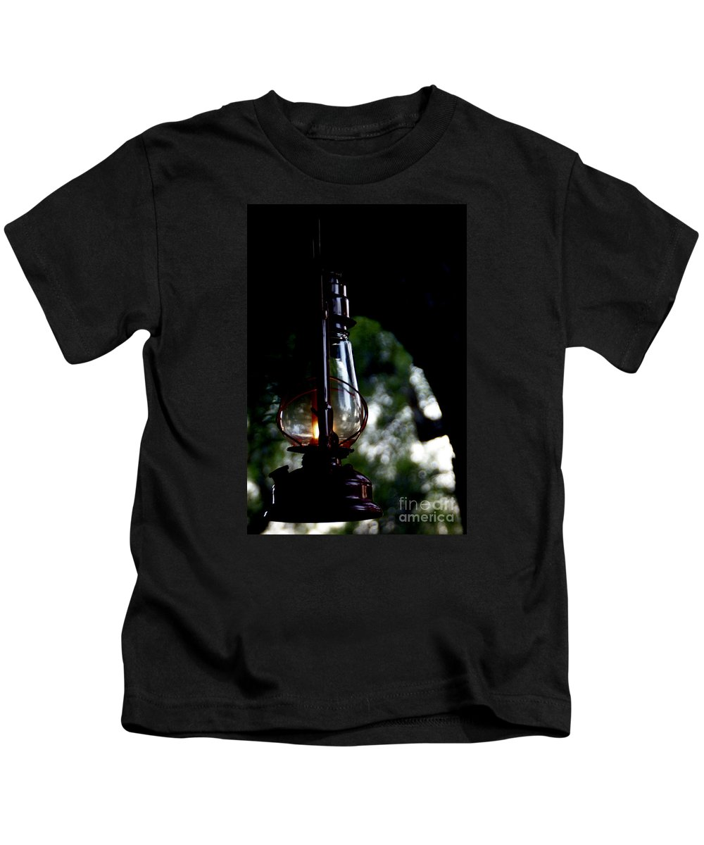 Lantern Kids T-Shirt featuring the photograph I Will Guide You by Linda Shafer