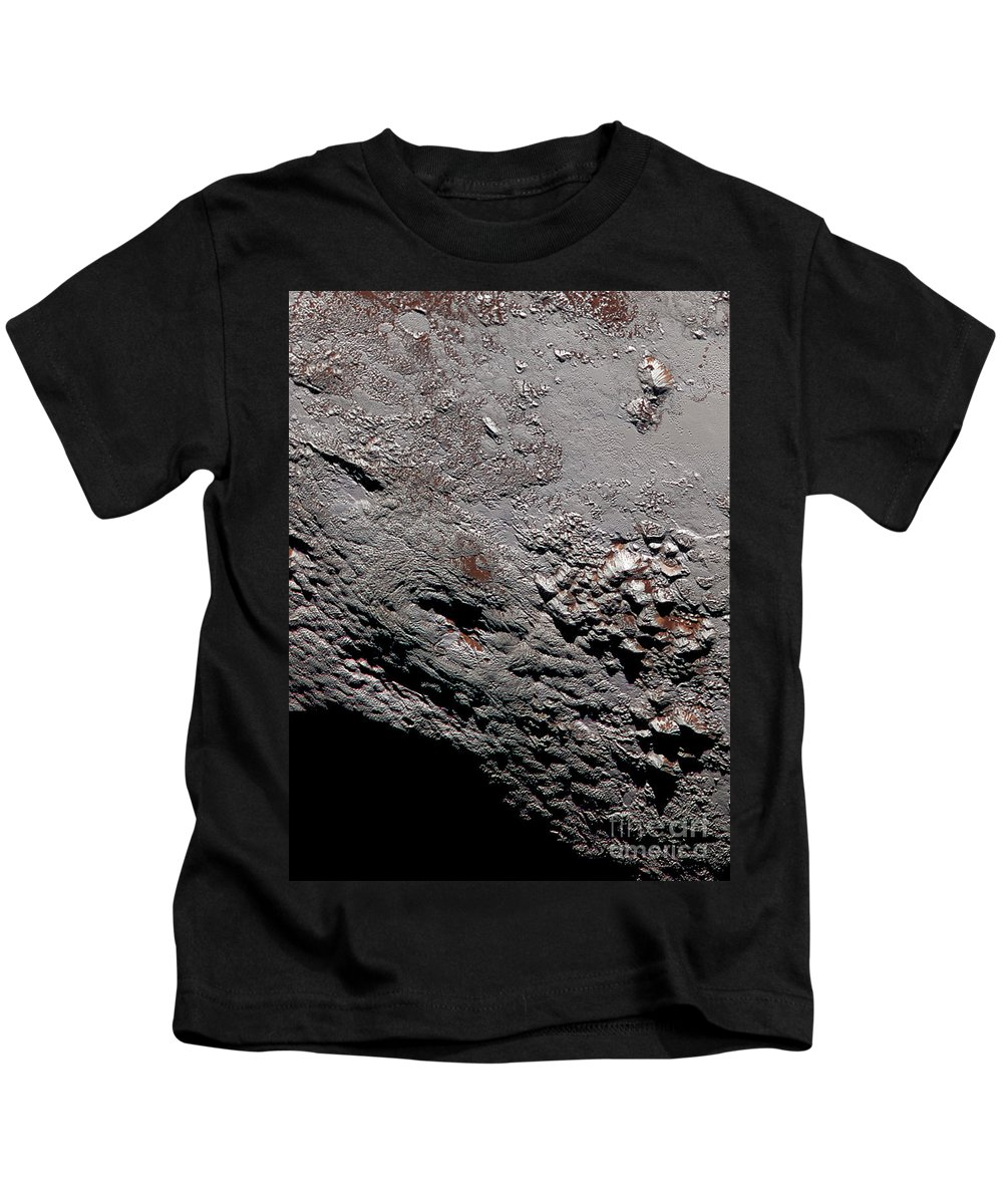 Science Kids T-Shirt featuring the photograph Ice Volcano On Pluto by Science Source