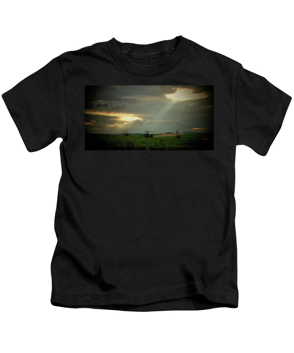 Farm Kids T-Shirt featuring the photograph If You Build It They Will Sow by Trish Tritz