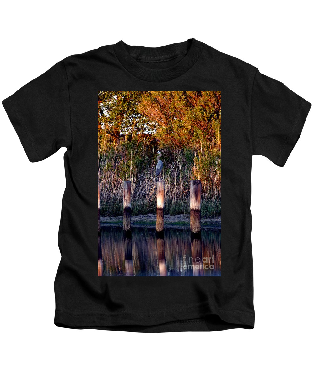 Clay Kids T-Shirt featuring the photograph Illusion by Clayton Bruster