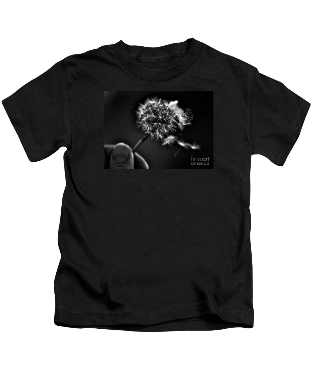 Imagine Kids T-Shirt featuring the photograph iMAGINE by Lisa Renee Ludlum
