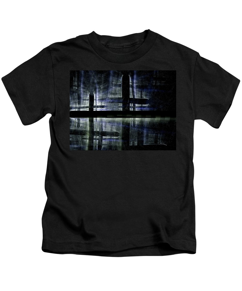 Fractal Kids T-Shirt featuring the digital art Imagine This by Amorina Ashton