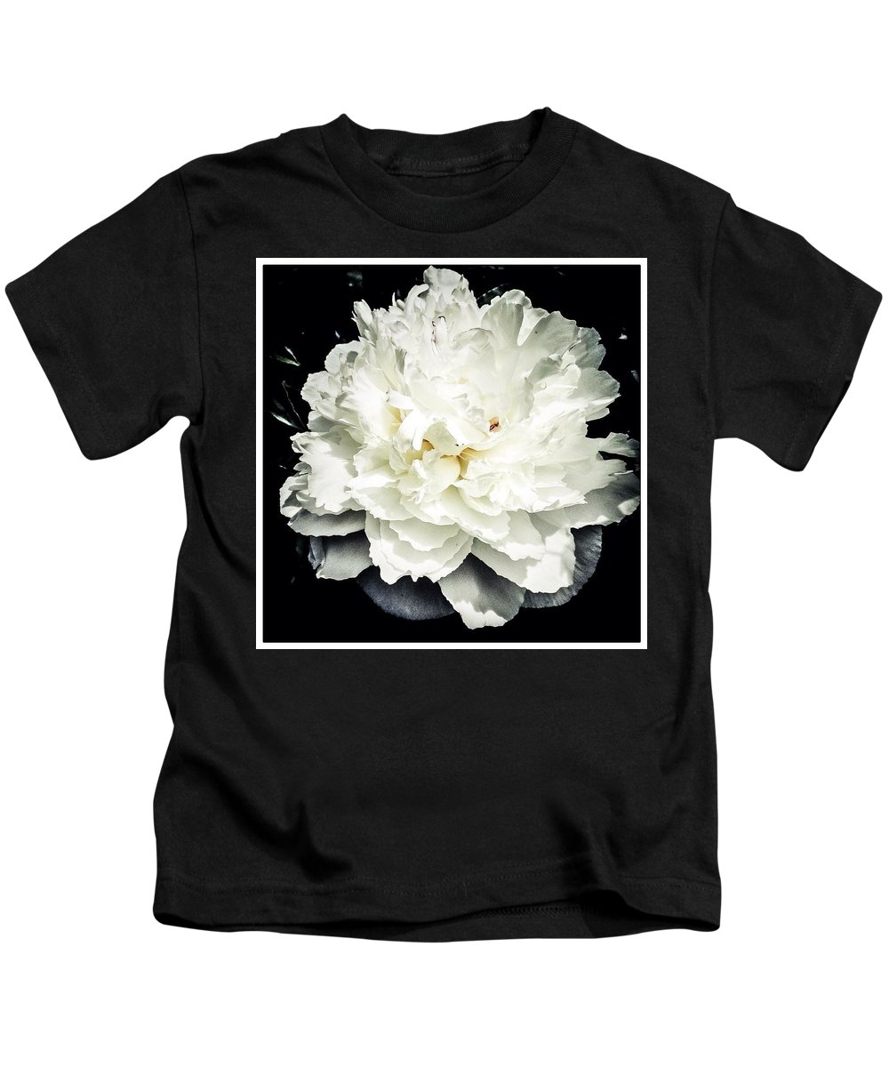 Kids T-Shirt featuring the photograph Impressive Peonies by Kara Ray