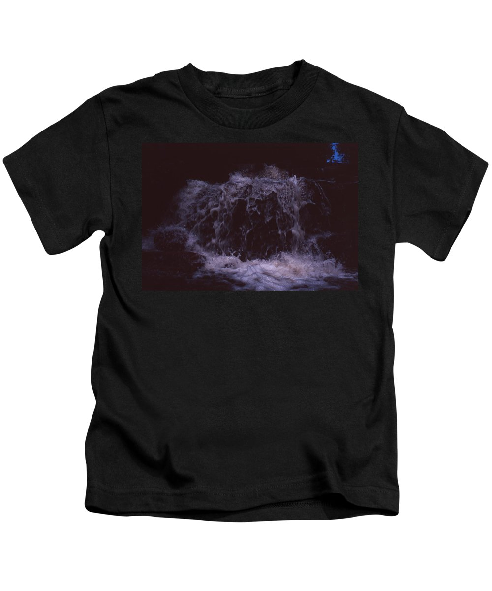 Bahia Kids T-Shirt featuring the photograph In A Bahian Waterfall by Patrick Klauss