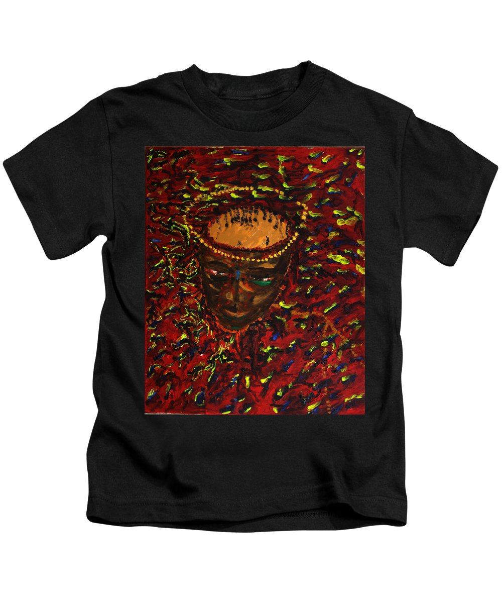 Jesus Kids T-Shirt featuring the painting In Gethsemane by Gloria Ssali