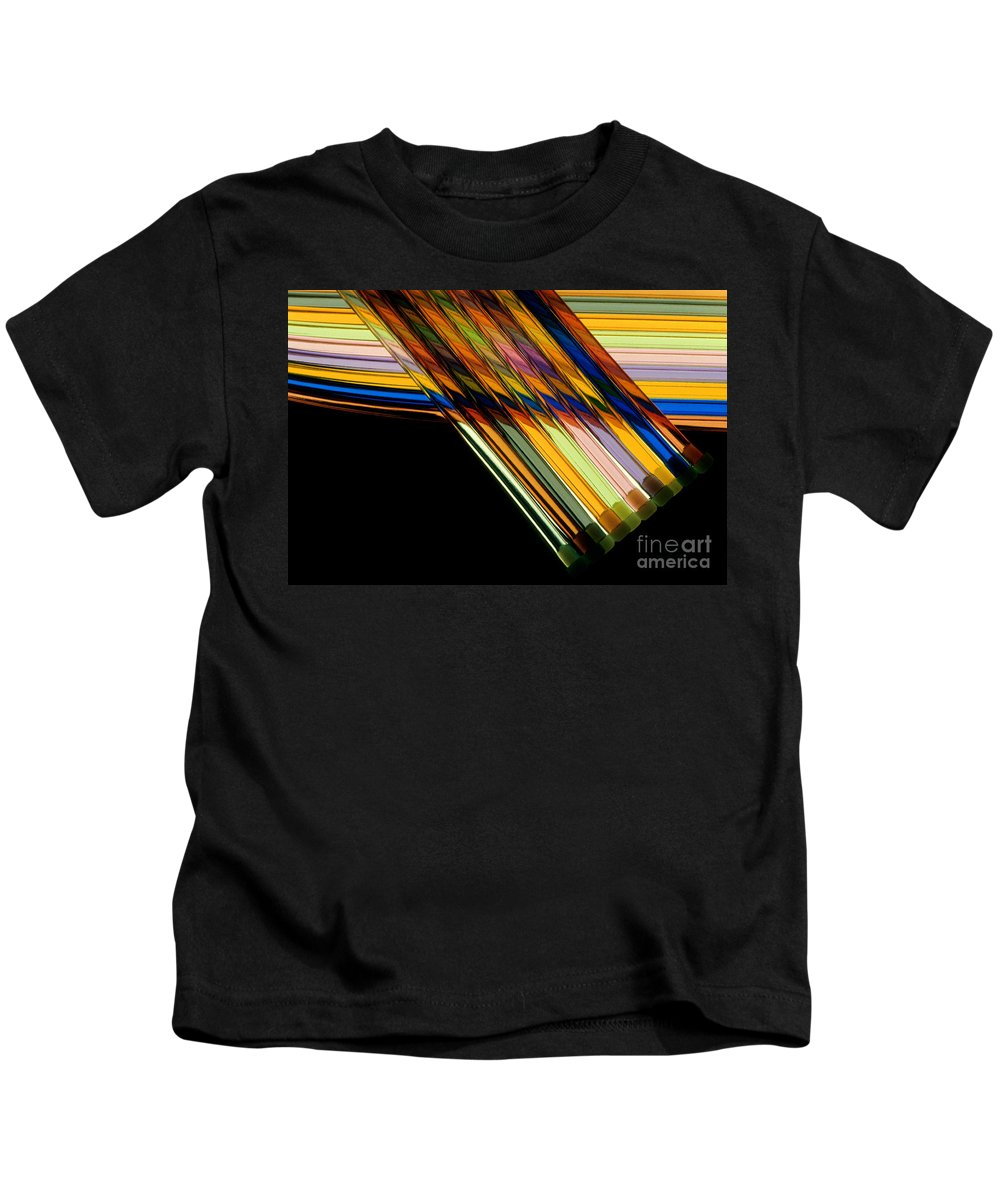 Color Kids T-Shirt featuring the photograph Industrial Art by Jerry McElroy