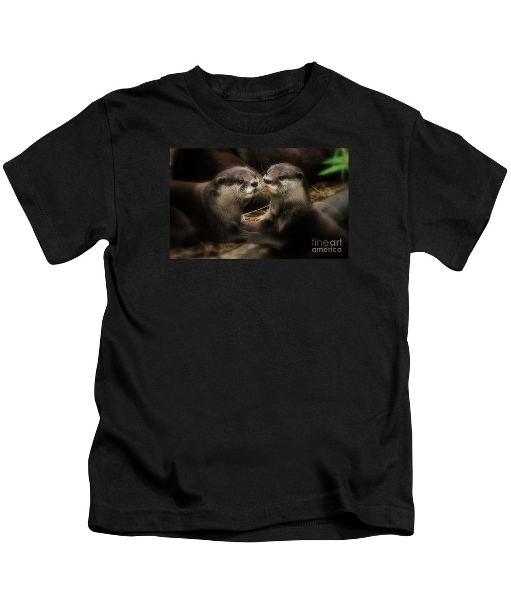 Animals Kids T-Shirt featuring the photograph Innocence by Kym Clarke