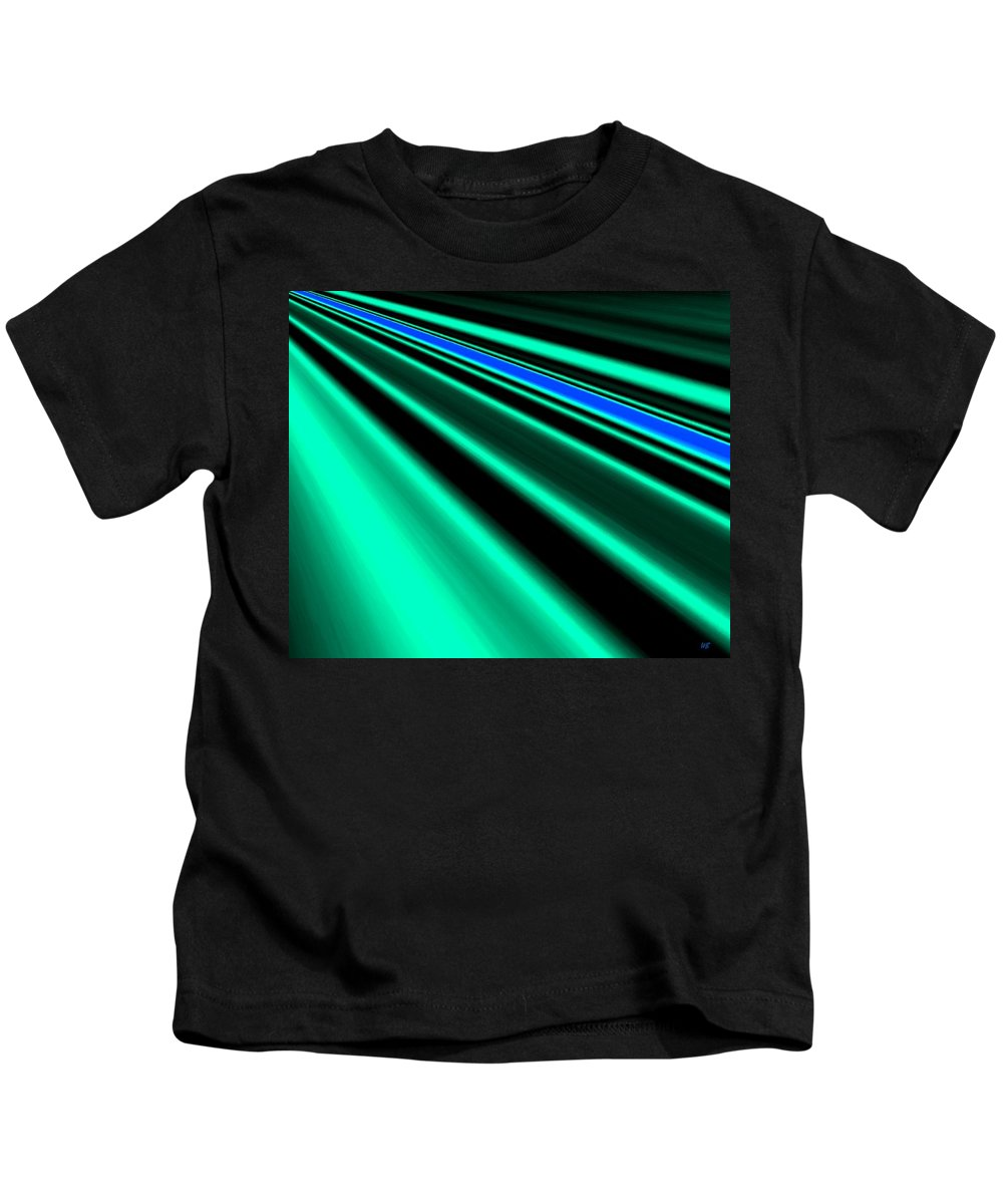 Abstract Kids T-Shirt featuring the digital art Inspiration by Will Borden