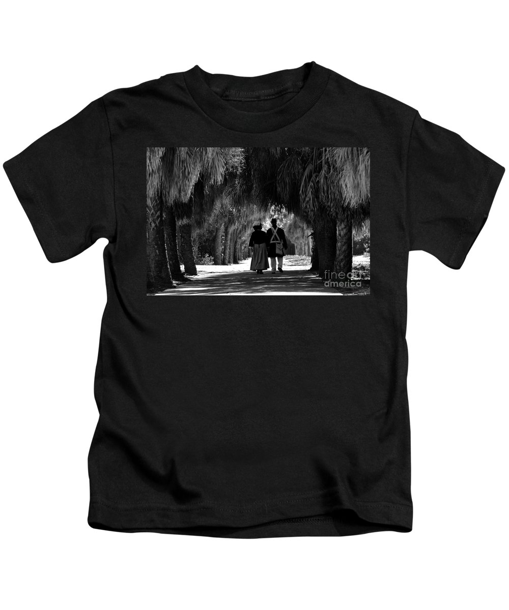 Historic Kids T-Shirt featuring the photograph Island History by David Lee Thompson