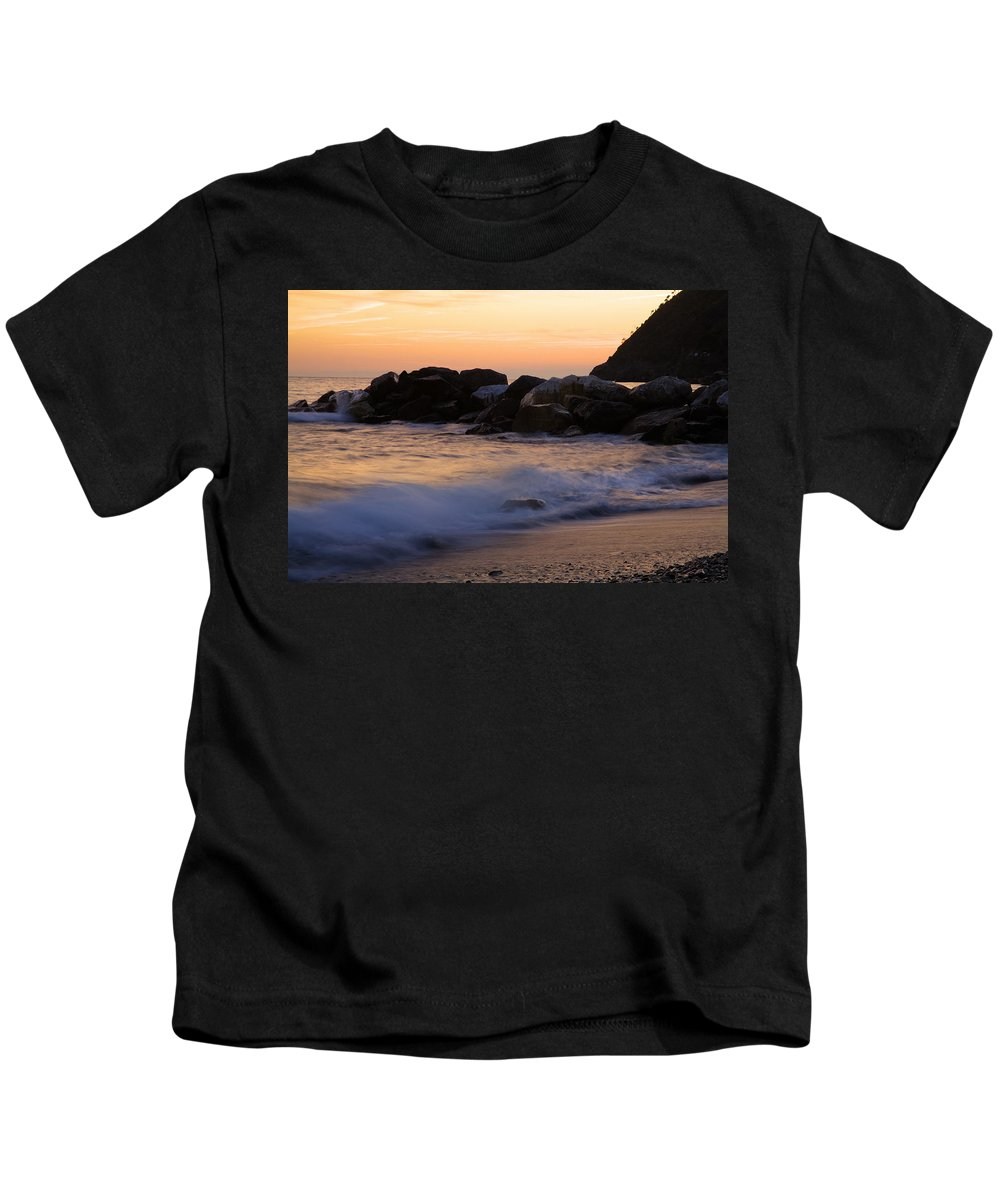 Italy Kids T-Shirt featuring the photograph Italian Sunsets by Ian Middleton
