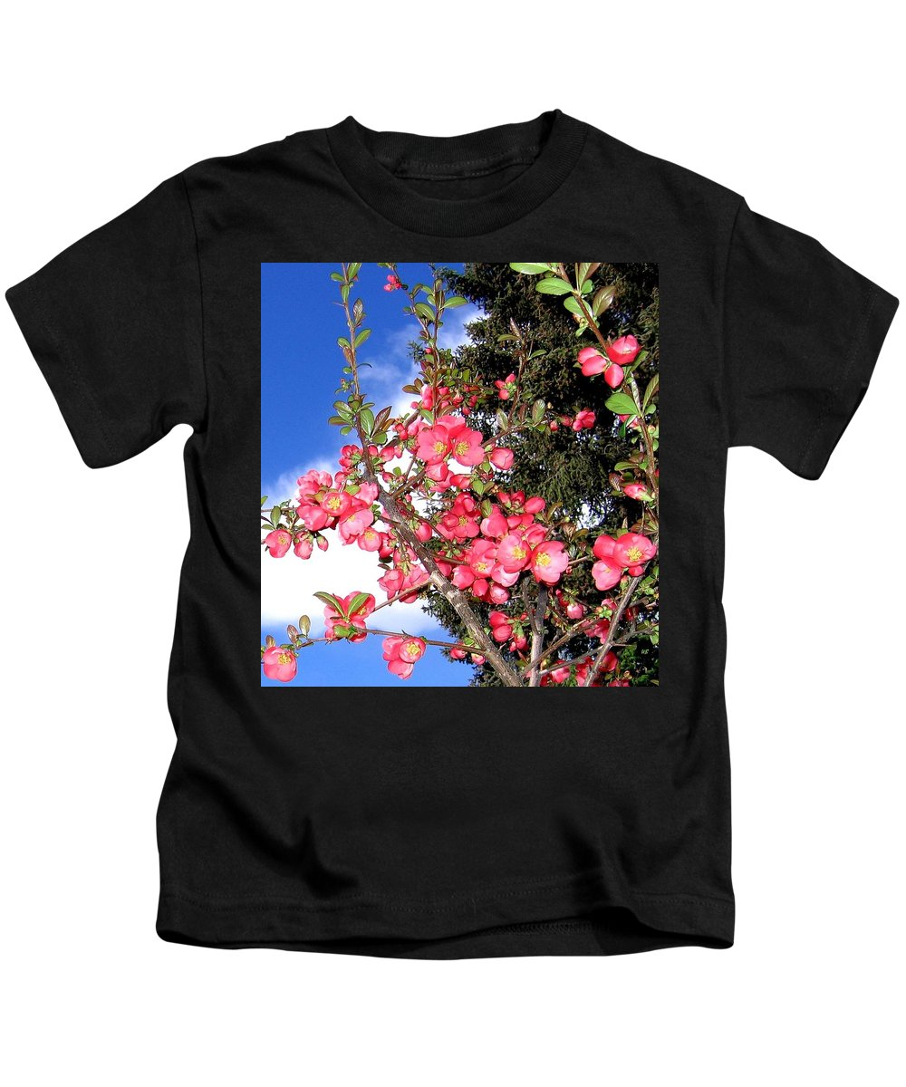 Japonica Kids T-Shirt featuring the photograph Japonica by Will Borden