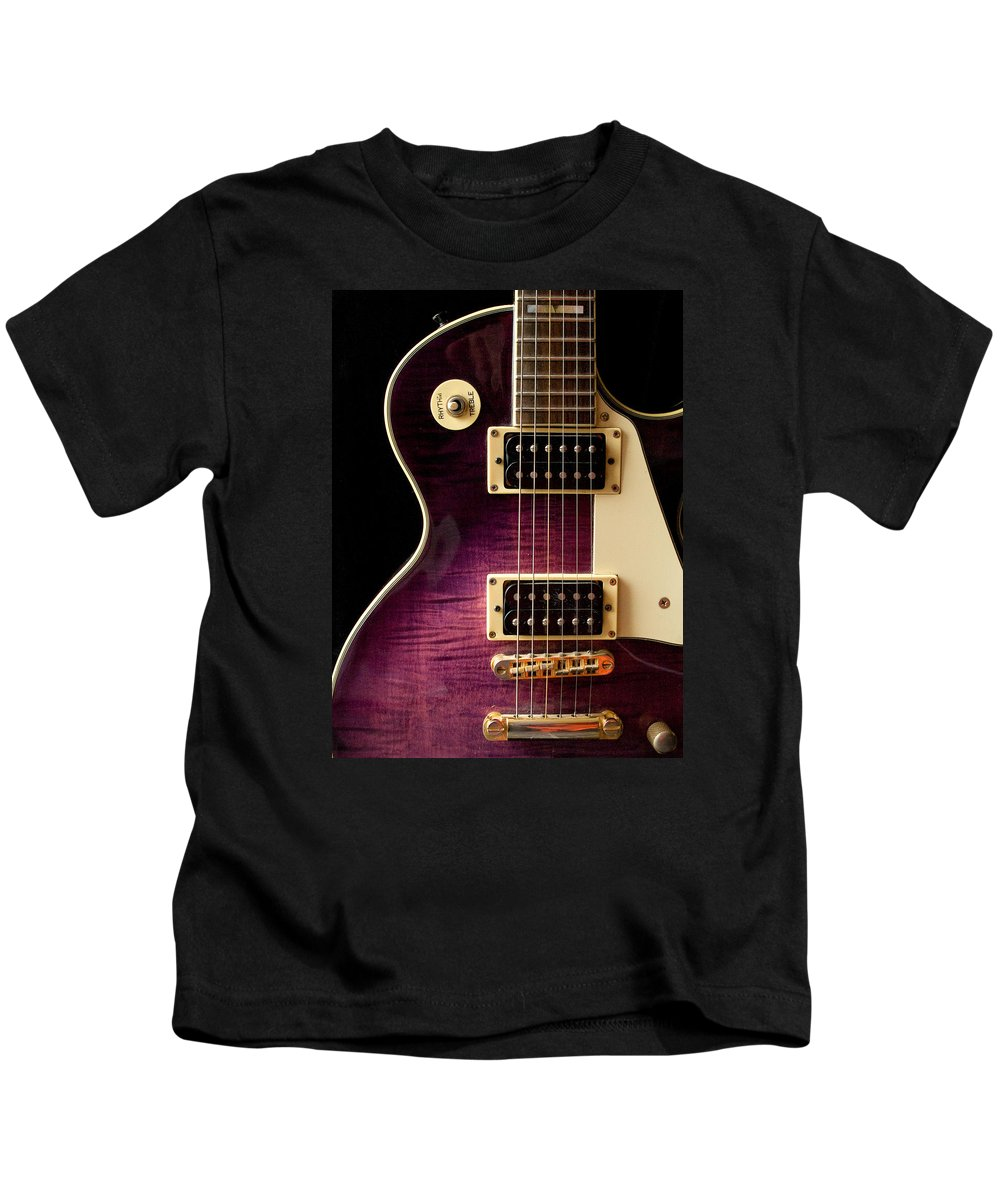 Jay Turser Kids T-Shirt featuring the photograph Jay Turser Guitar 9 by Dorothy Lee