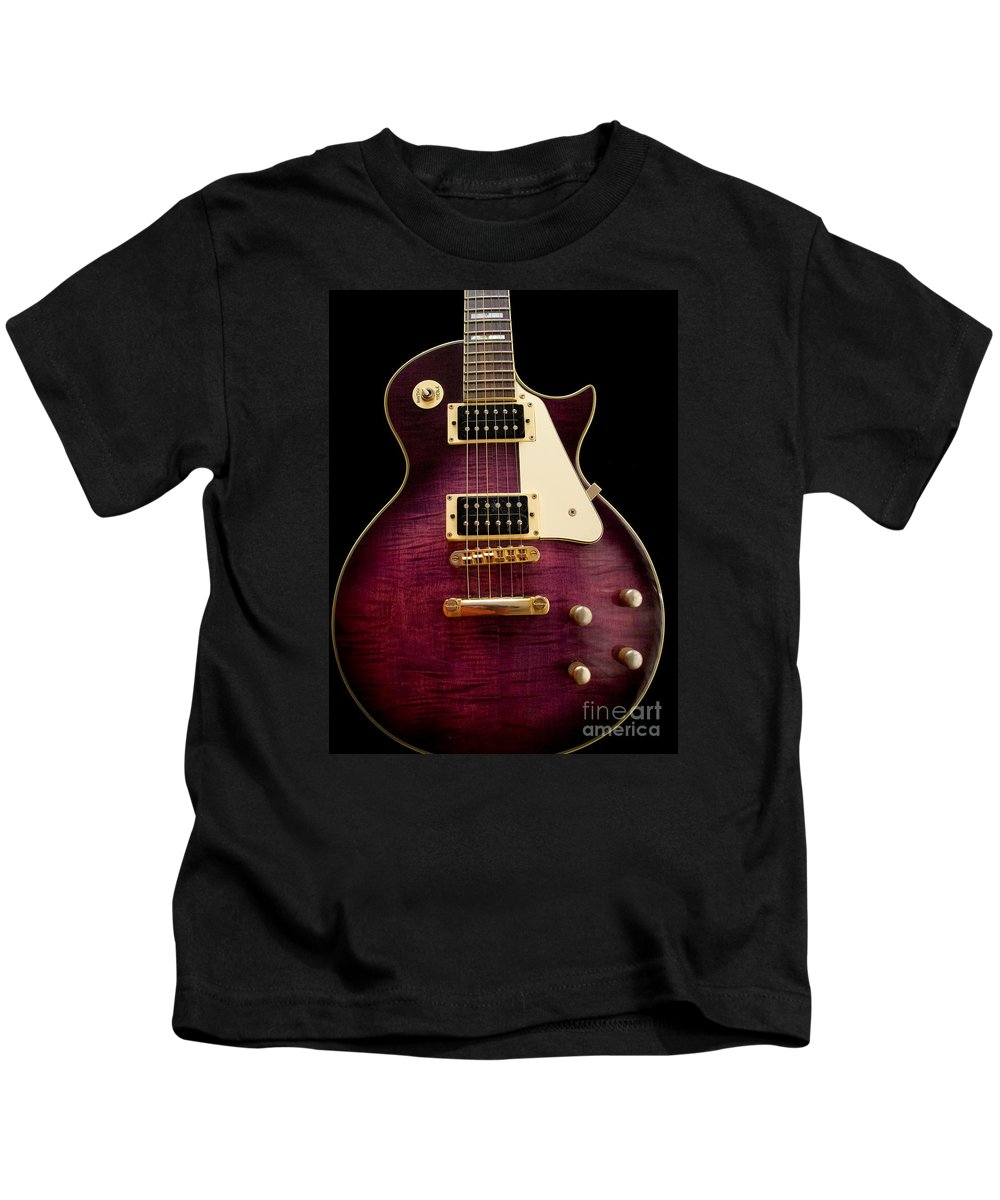 Jay Turser Kids T-Shirt featuring the photograph Jay Turser Guitar 2 by Dorothy Lee