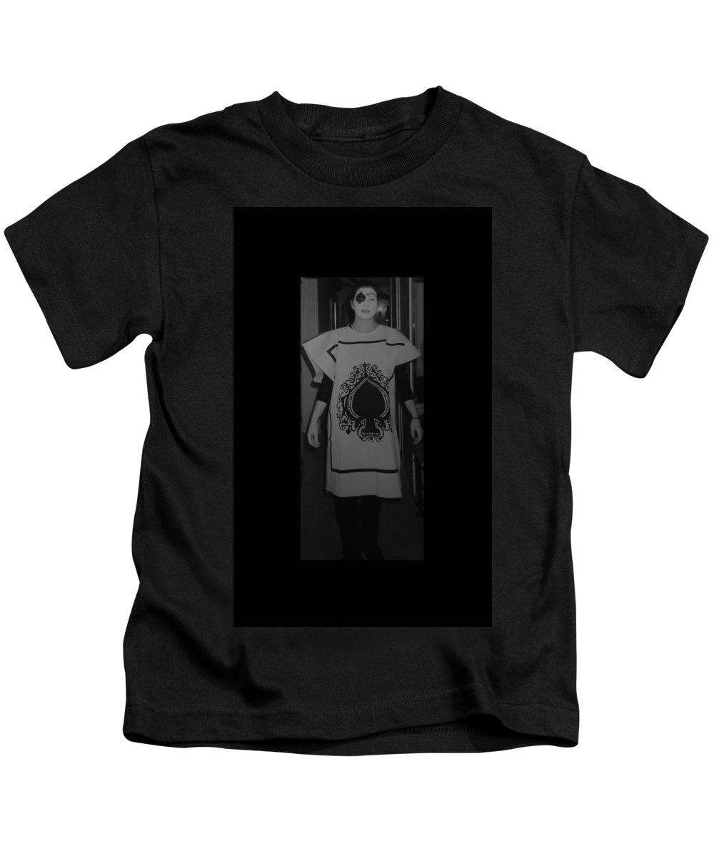 Ace Of Spades Kids T-Shirt featuring the photograph Jen Of Spades by Rob Hans