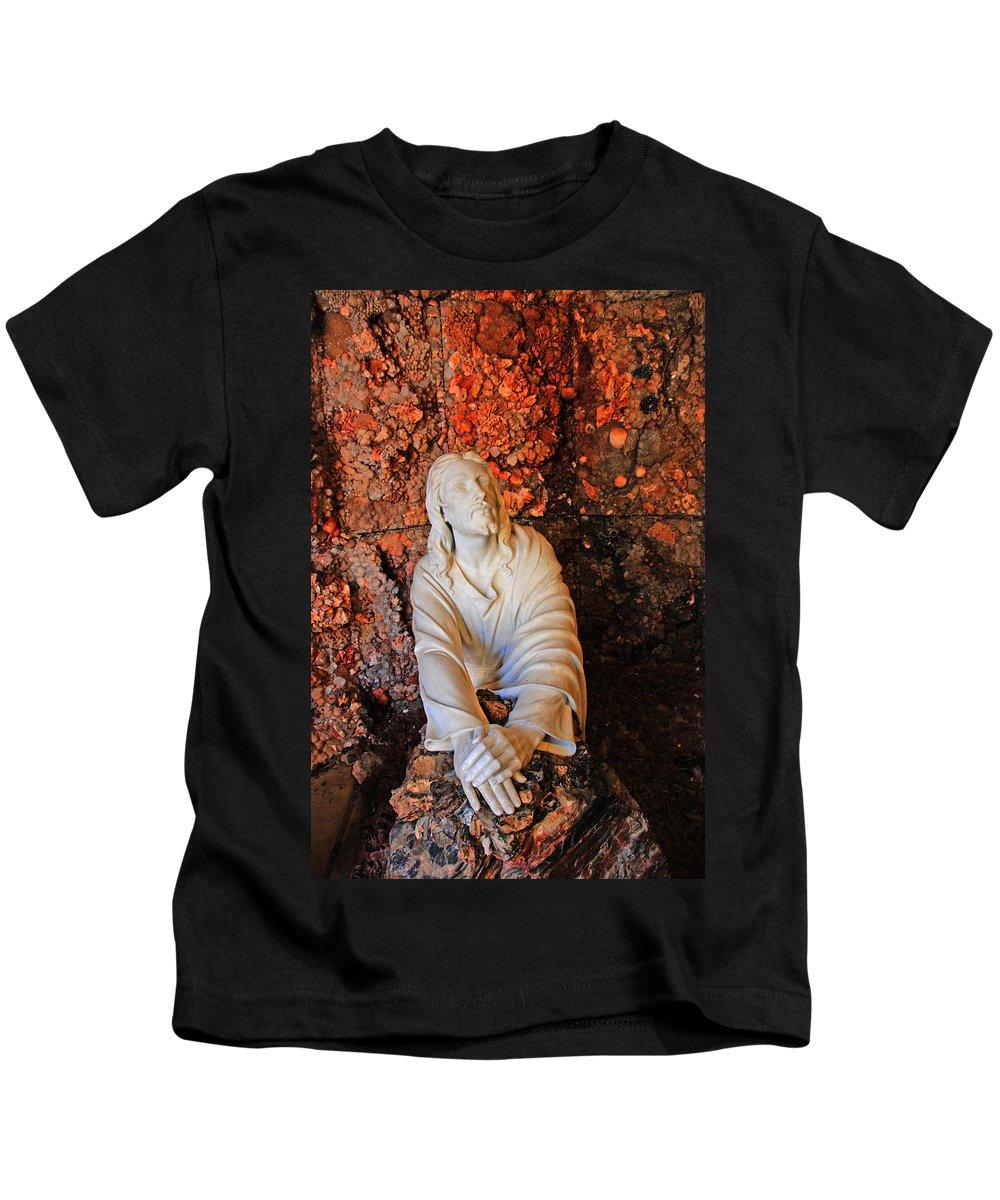 Jesus Christ Kids T-Shirt featuring the photograph Jesus Christ by Susanne Van Hulst