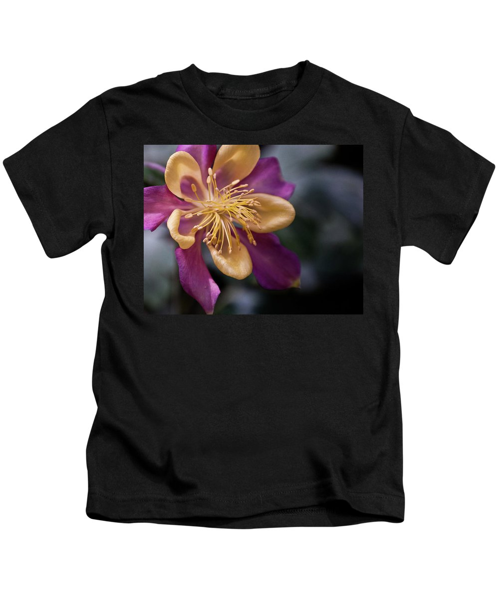 Yellow Kids T-Shirt featuring the photograph Just A Pretty Flower by Trish Tritz